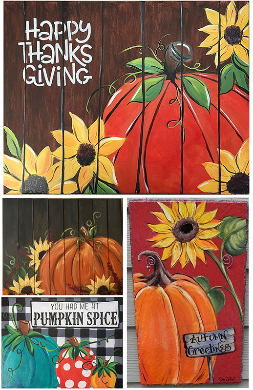 November Paint Party Pint A Pumpkins