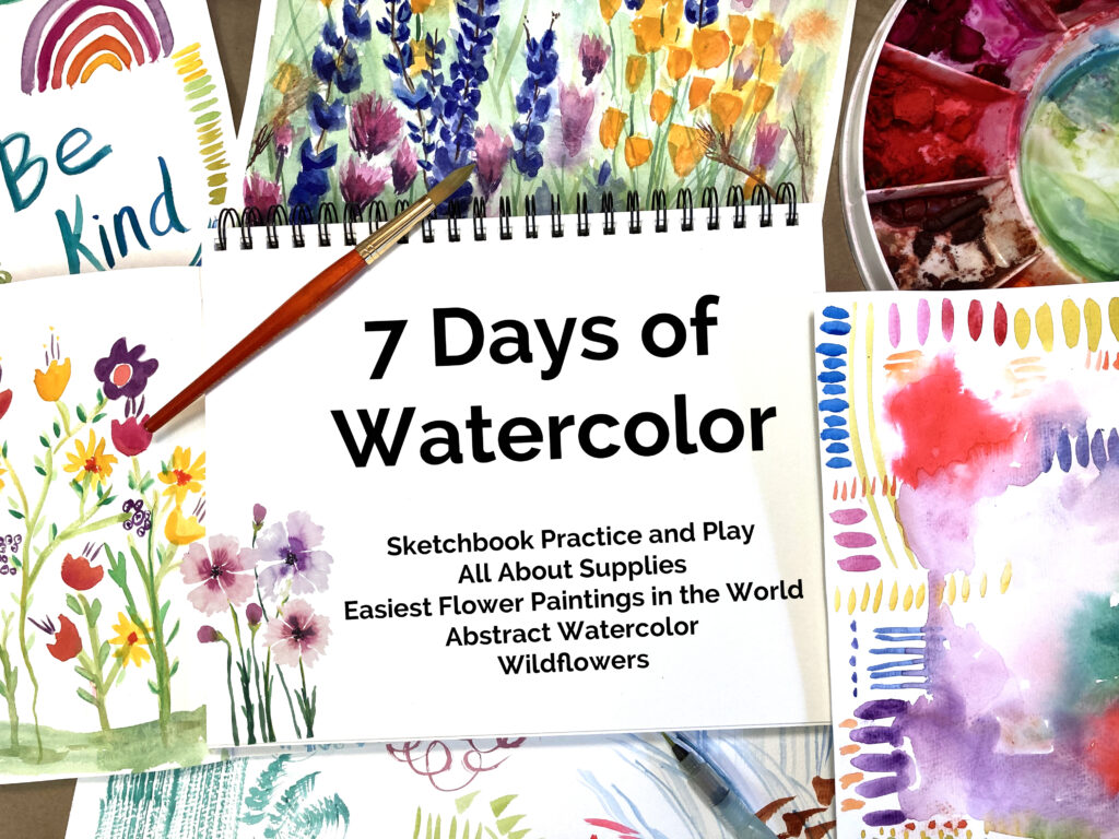 7 Days Of Watercolor Painting Class